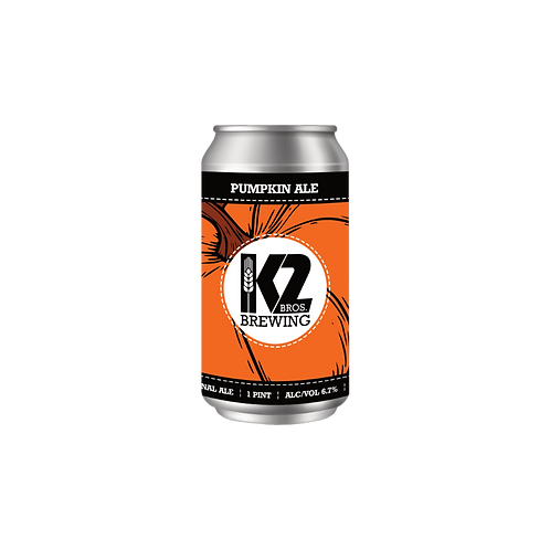 Pumpkin Ale (16oz.) 4-pack