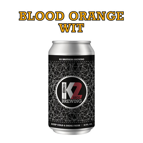 Blood Orange Wit (32oz. Crowler)