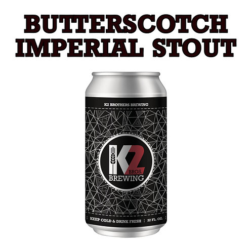Collab with Iron Flamingo - Butterscotch Imperial Stout (32oz. Crowler)