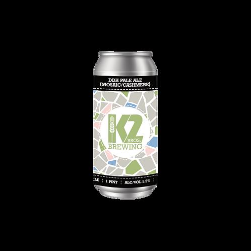 DDH Pale Ale (Mosaic/Cashmere) (16oz.) 4-pack