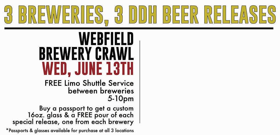 Webfiel Brewery Crawl