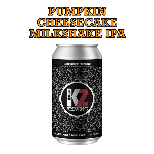 Pumpkin Cheesecake Milkshake IPA (32oz. Crowler)