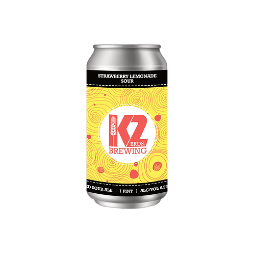 Strawberry Lemonade Sour (16oz.) 4-pack