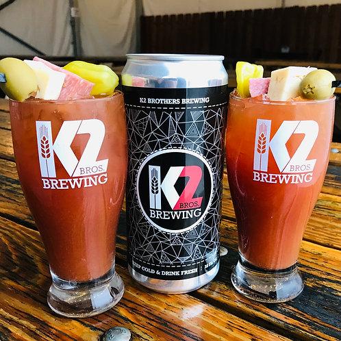 K2 Jalapeño Bloody Mary (32oz. Crowler)