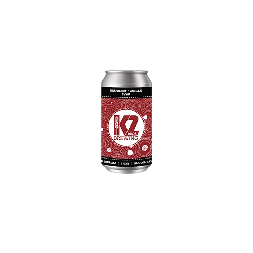 Raspberry / Vanilla Sour (16oz.) 4-pack