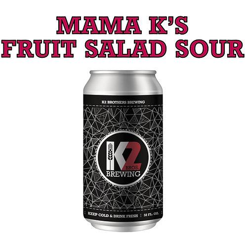 Mama K's Fruit Salad Sour (32oz. Crowler)