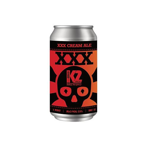 XXX Cream Ale (16oz.) 4-pack