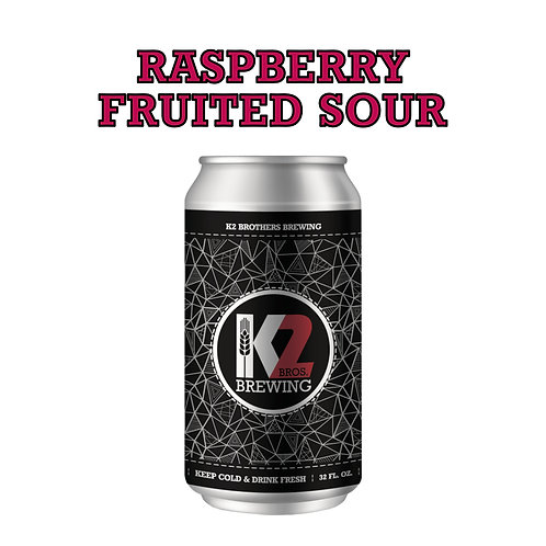 Raspberry Fruited Sour (32oz. Crowler)