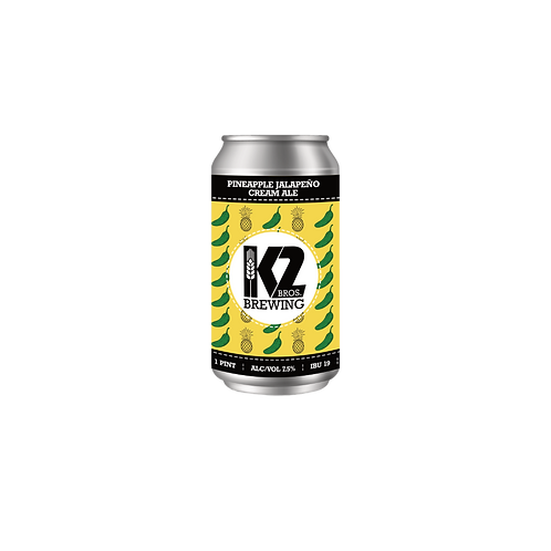 Pineapple Jalapeño Cream Ale (16oz.) 4-pack
