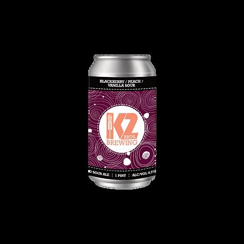 Blackberry / Peach / Vanilla Sour (16oz.) 4-pack