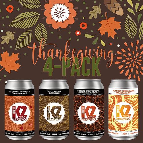 Thanksgiving (16oz.) 4-pack