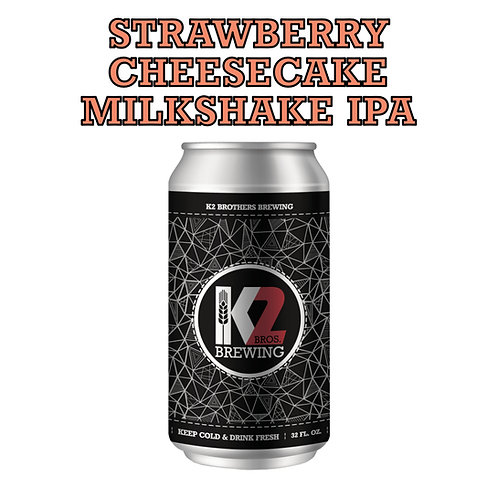 Strawberry Cheesecake Milkshake IPA (32oz. Crowler)