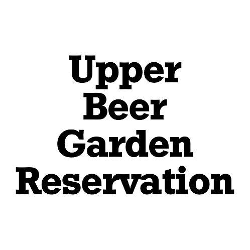 Upper Beer Garden Event