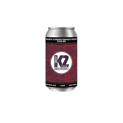Black Currant/Passion Fruit Sour IPA (16oz.) 4-pack