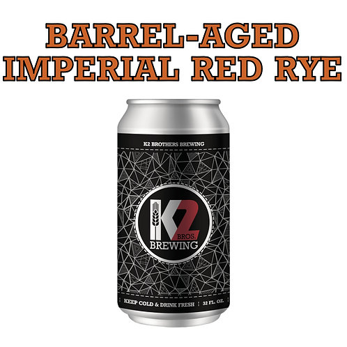 Barrel-Aged Imperial Red Rye (32 oz.)