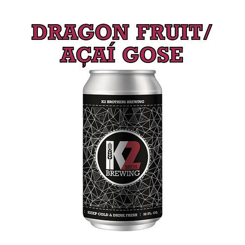PILOT BATCH: Dragon Fruit/Acai Gose (32oz. Crowler)
