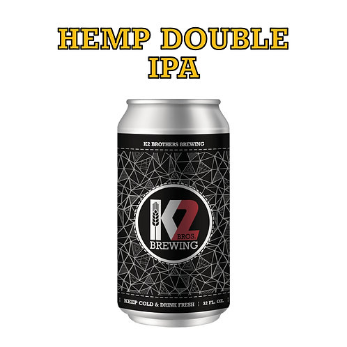 Hemp Double IPA (32oz. Crowler)