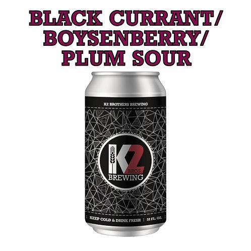 Black Currant/Boysenberry/Plum Sour (32oz. Crowler)