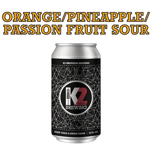 Orange/Pineapple/Passion Fruit Sour (32oz. Crowler)