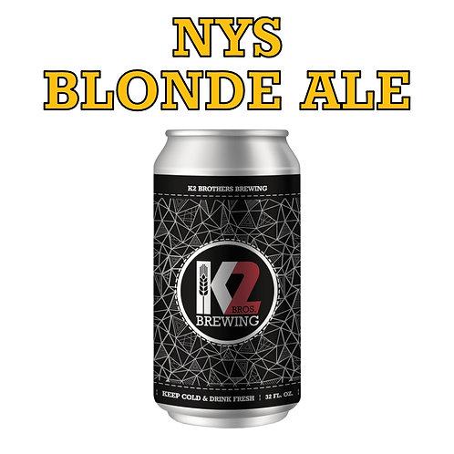 NYS Blonde Ale (32oz. Crowler)