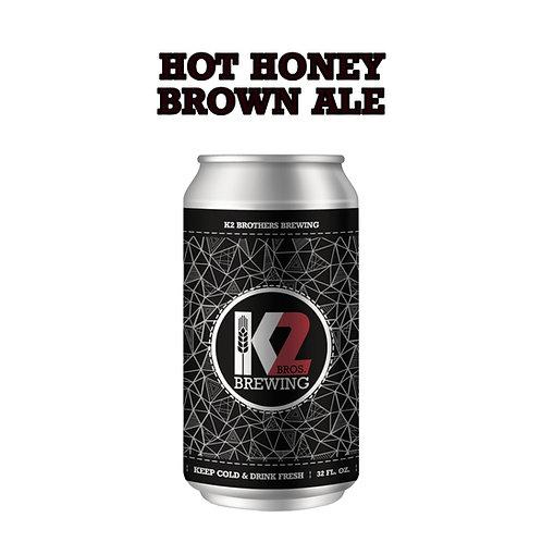 Hot Honey Brown Ale (32oz. Crowler)