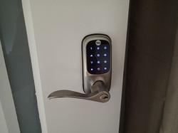 Smart pin door lock