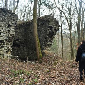 NOVÝ HRAD - the forgotten castle