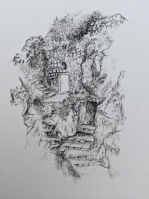 Cliff side Dubrovnik