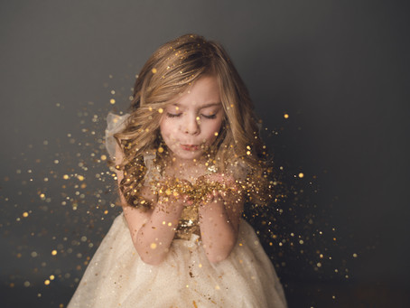 Brooke | Glitter Session | Northwest Indiana Photographer