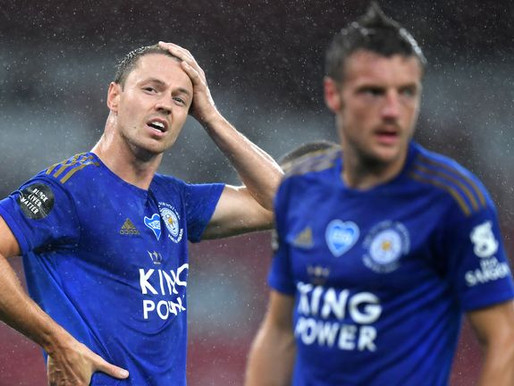 Lackluster  Leicester city hopes of champions league football in shambles.