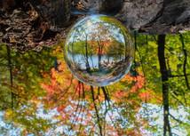 Crystal Ball says fall has arrived at Pike Lake