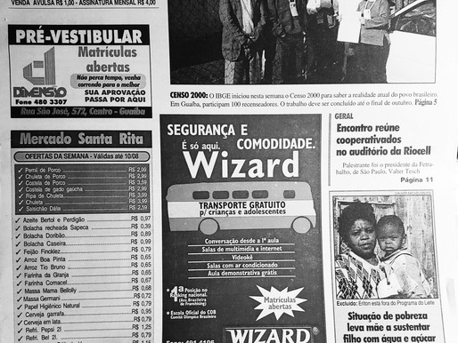 Há 20 anos: O que foi notícia no dia 04 de agosto de 2000/edição 483