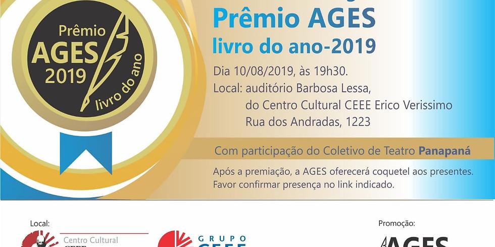 Noite de Entrega do Prêmio AGES Livro do Ano - 2019