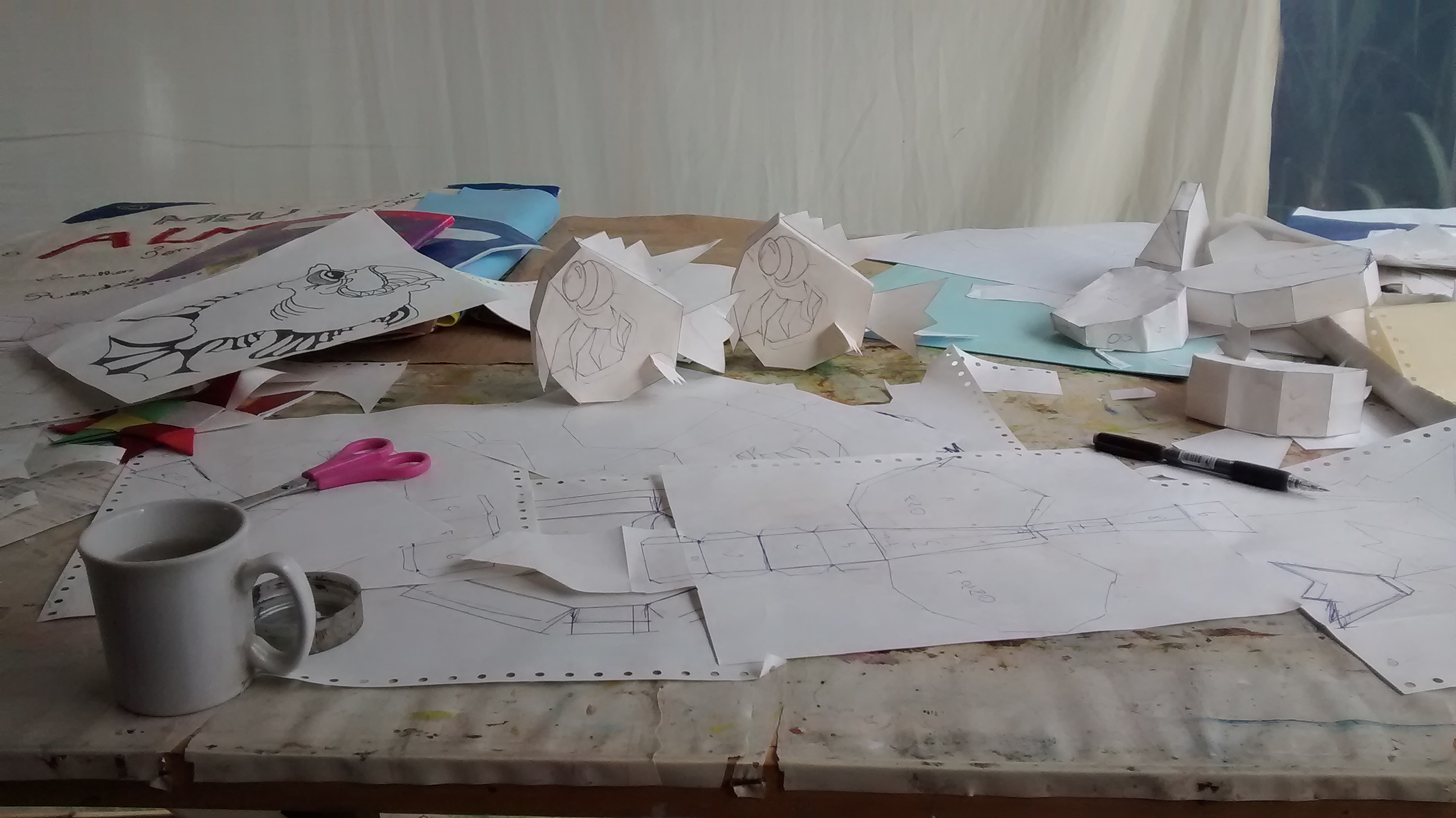 Paper Papo Toy