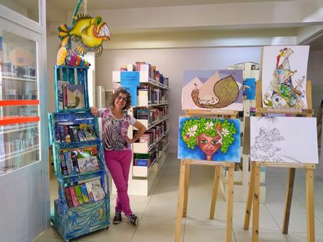 Exposição de Monika Papescu é prestigiada em Osório/RS