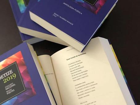 Conheça meus poemas já publicados,  classificados em 3 diferentes concursos.