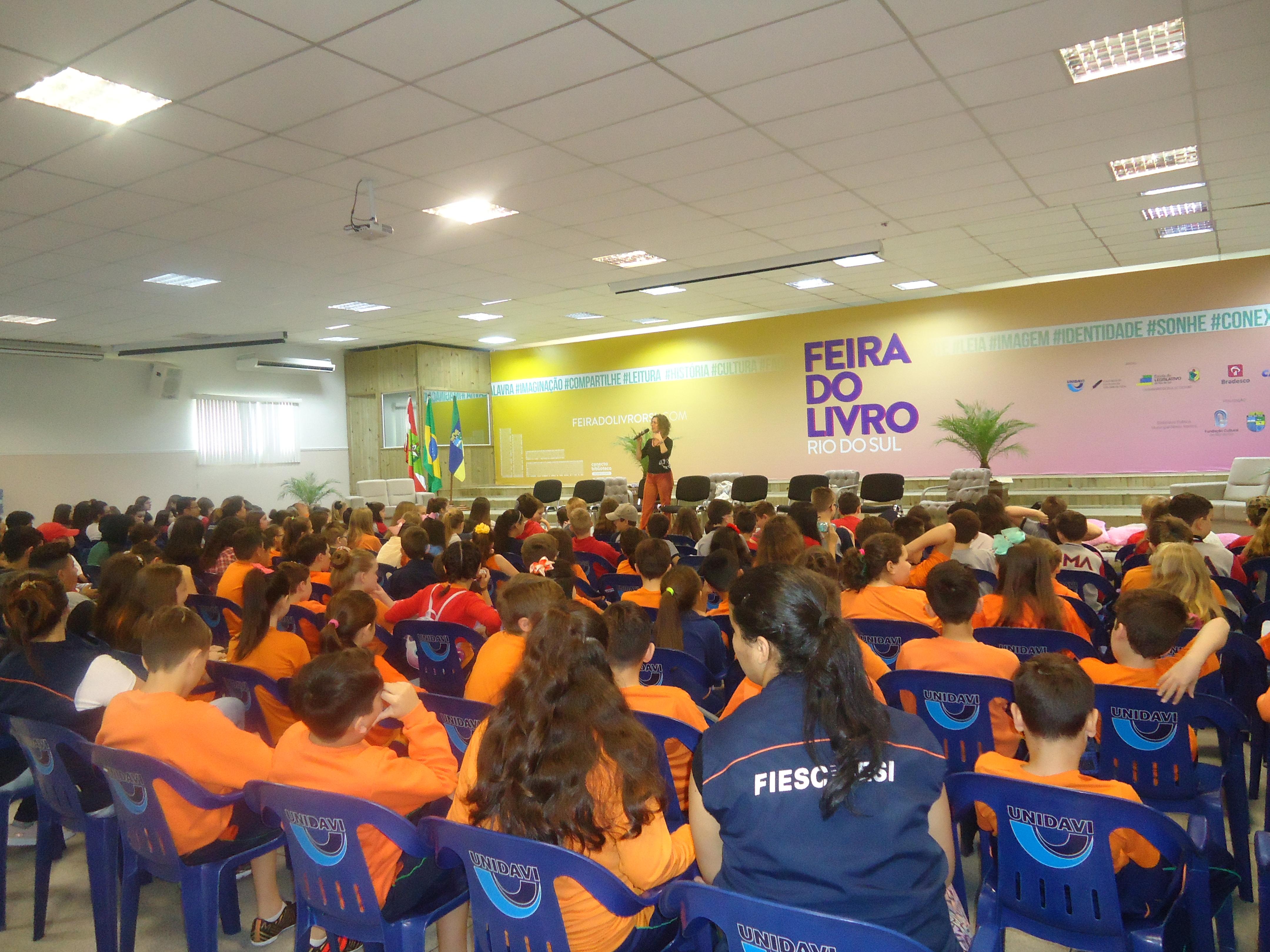 Feira do Livro Rio do Sul-SC 2018 6