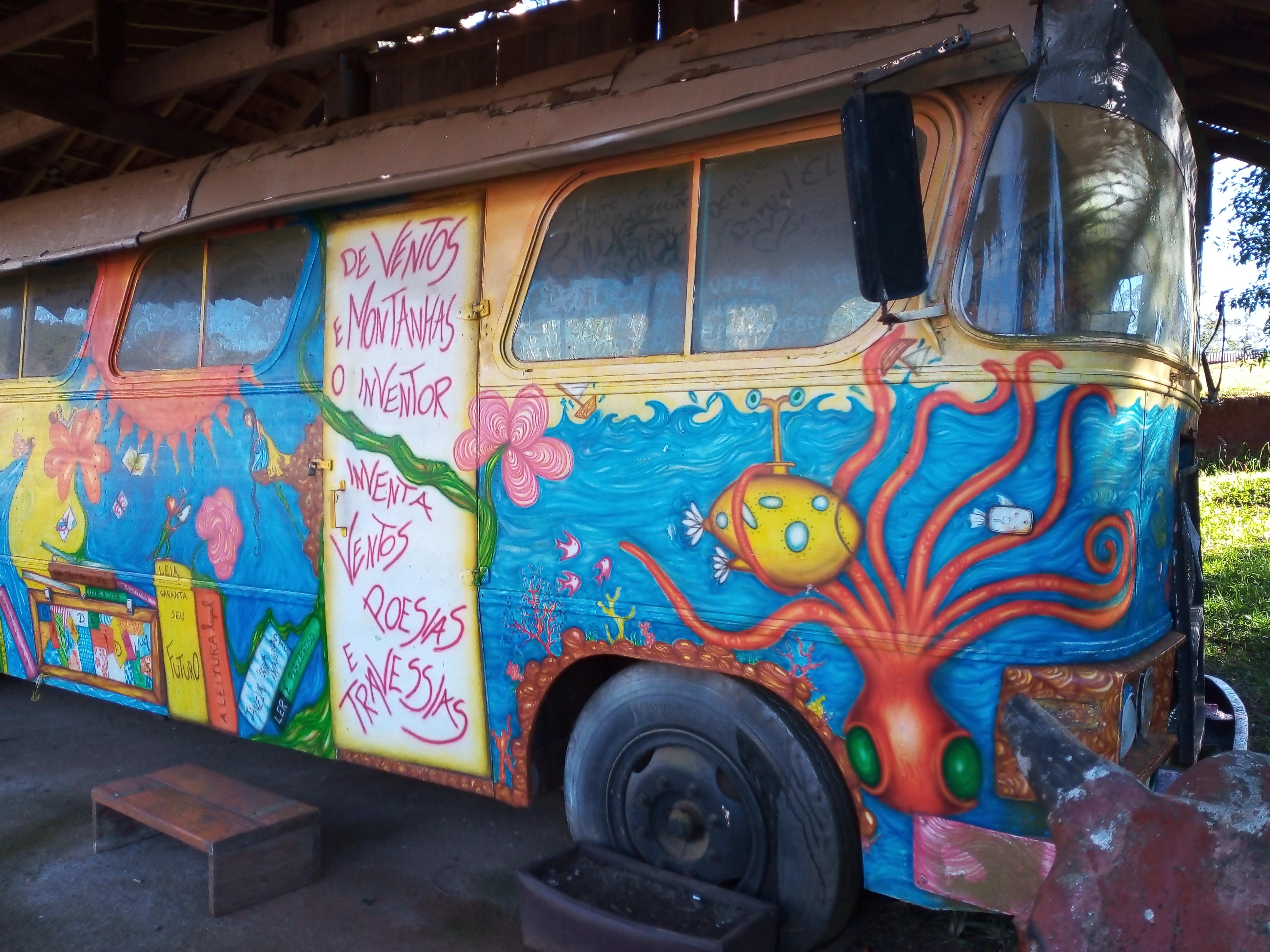 Ilustração ônibus