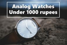 Analog Watches under 1000 Rupees - Amazon Idea List