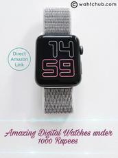 DIgital Watch (1000 Rupees) - Idea List