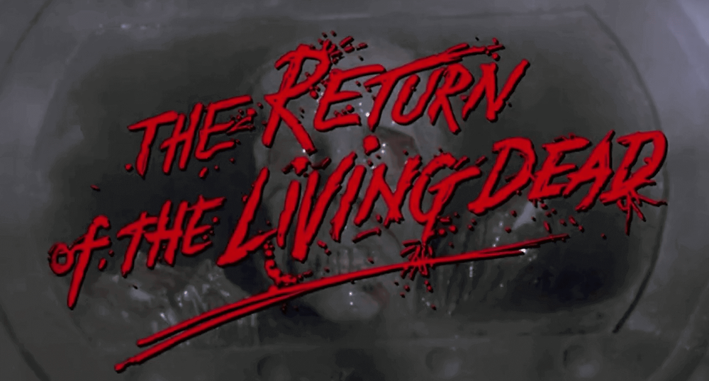Title of The Return of the Living Dead as in movie. It's one of the best zombie apocalypse movies.