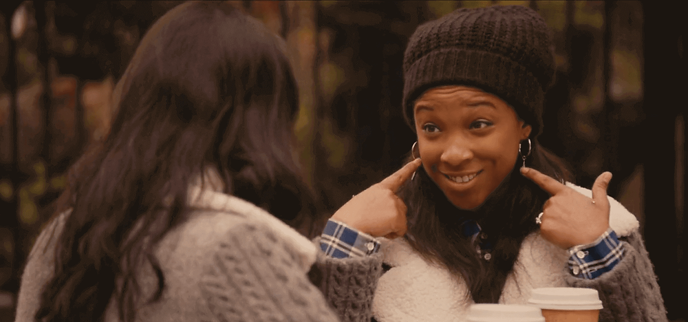 Maya, the deaf girl in Master of None New York I Love You - Season 2 Episode 6