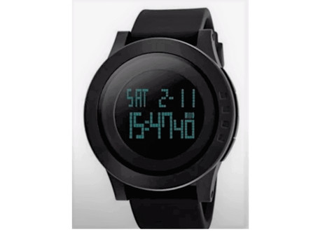 Skmei V2A S-Shock Digital Black Dial Men's Watch Review