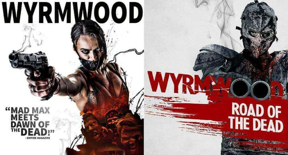 Wyrmwood title poster collage - Wyrmwood is an Australian zombie-action movie released in 2014.