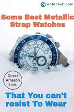 Analog Metallic Strap Watches - Amazon Idea List