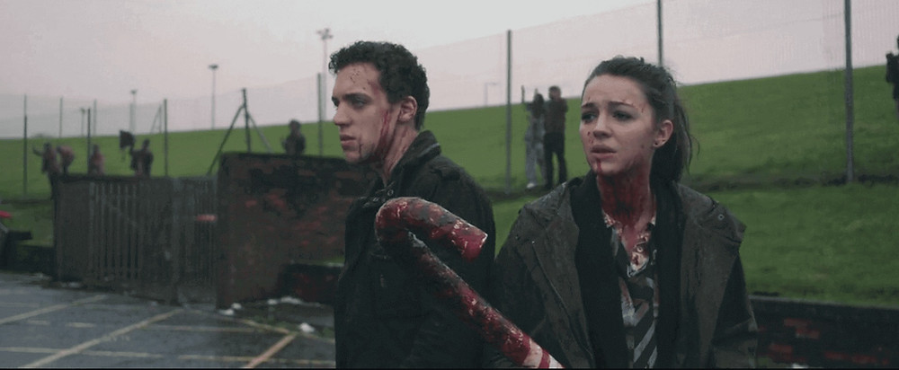 Anna and the Apocalypse ending scene - Zombie Musical movie or Zombie Survival movie - Ella Hunt's Anna and Ben Wiggins' Nick