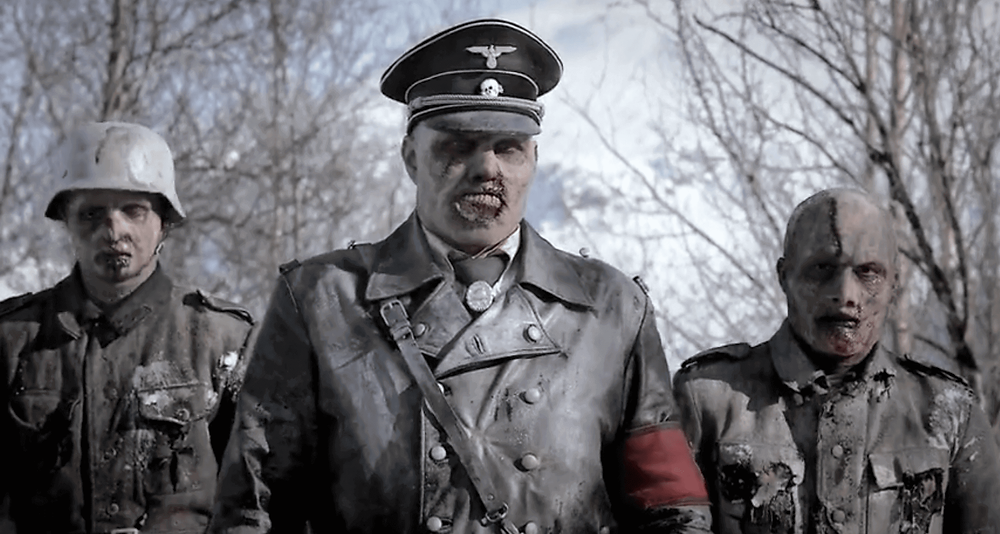 Nazi Zombies in Dead Snow movie franchise. This is an image of Standartenführer (Oberst) Herzog of Dead Snow.