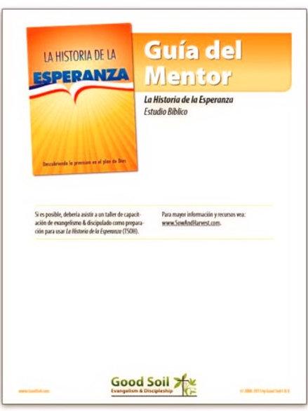 Guía del Mentor - Historia de la Esperanza