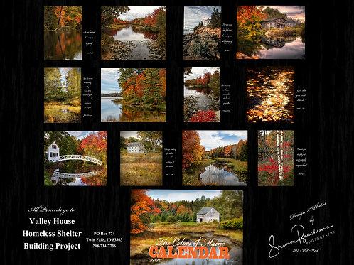 2020 'Colors of Maine' Calendar
