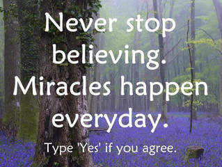 SO believe !!!#miracles